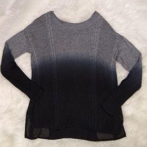 American Eagle Crewneck Knit Sweater M Ombre
